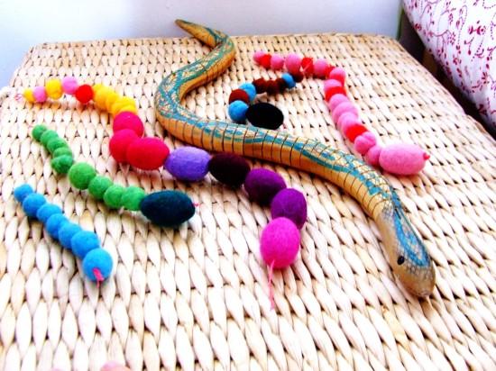 wool snakes