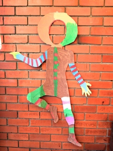 Clown cut out