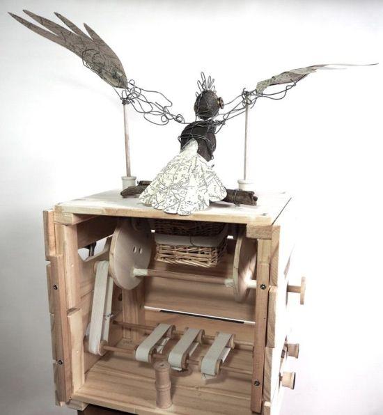 Mechanical Cockatoo 4